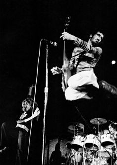 Pete Townshend and Roger Daltrey The Who: Tumblr
