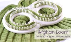 Get your Afghan Loom, Blanket Knitting Loom & Knitting Patterns for your next Knitting Project at Authentic Knitting Board Today! Loom Knitting Blanket, Afghan Loom, Loom Blanket, Loom Knitting Stitches, Knifty Knitter, Loom Knitting Projects, Knitted Afghans, Arm Knitting, Yarn Projects