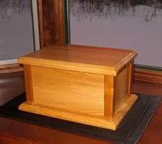 Image result for wooden burial urns humans
