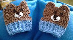 The Penguin Pages: Da Bears Fingerless Gloves