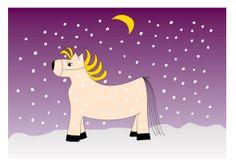 Ingmar, een zonnig paard met manen :)