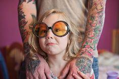 Seleção: 16 imagens de pais tatuados ao lado de seus filhos | Estilo