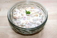 Alajuli: Majonézes kukorica saláta Pudding, Desserts, Recipes, Foods, Tailgate Desserts, Food Food, Deserts, Food Items, Custard Pudding