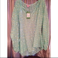 Lilly Pulitzer rilla top NWT. Lilly Pulitzer Tops Blouses