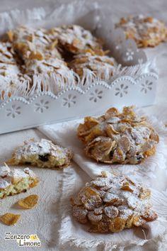 Italian Cookie Recipes, Italian Cookies, Pie Recipes, Great Desserts, Mini Desserts, Cookie Desserts, Almond Cookies, Little Cakes, Food And Drink