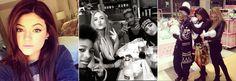 """Kylie Jenner é muito linda! Ela mostrou essa semana que se diverte muito ao lado dos amigos. Alguns deles bem famosos, como são os casos dos irmãos Jaden e Willow Smith. Até """"brincar de boneca"""" ela brincou ao lado das amigas. Fofa! http://instagram.com/kyliejenner/"""