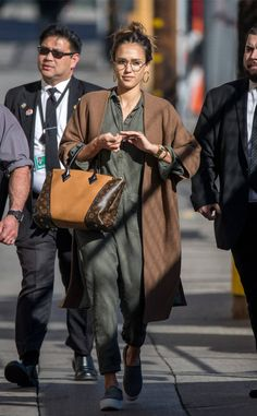 Jessica Alba from The Big Picture: Today's Hot Photos The actress is rocking a casual outfit in Los Angeles.