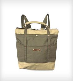 Bobby Convertible Canvas Backpack & Tote Bag | Women's Bags & Accessories | Ian James New York | Scoutmob Shoppe