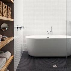 Maison de Gaspe features in Dezeen's Pinterest bathroom roundup