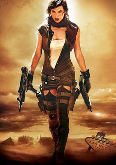 Milla Jovovich, Resident Evil Extinction I also like the rest of the series