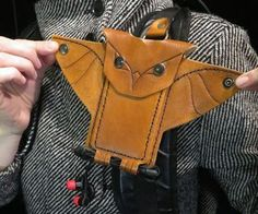Picture of Leather Owl Phone Holster