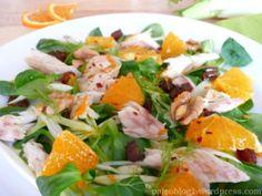Salát z uzené makrely a fenyku s citrusovým dresinkem / SMOKED MACKEREL FENNEL SALAD, CITRUS DRESSING
