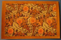 art nouveau dandelion