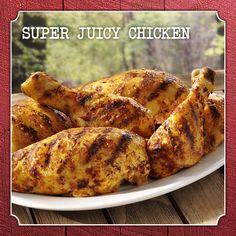 Super Juicy Chicken #recipe #Frenchs #bbq #yellowmustard #NaturallyAmazing