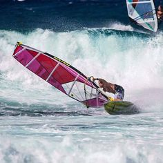 Winter's on the way at Hookipa: Robby Naish still having fun and going strong
