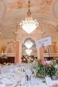 Wedding table, pinkish decoration Hotel Beau Rivage, Palace, Wedding Table, Table Decorations, Palaces, Dinner Table Decorations, Castles