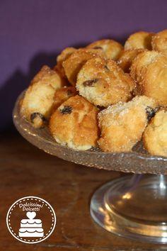Castagnole Italian Desserts, Italian Recipes, Pretzel Bites, Doughnuts, Waffle, Muffin, Favorite Recipes, Bread, Cookies