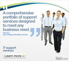 Five rivers has developed a comprehensive portfolio of support services that is flexible enough to meet any requirement. From a single PC th...