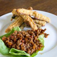 Big Easy Sloppy Joes w/ Cajun Zucchini Fries - Paleo