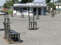 Memorial en el antiguo Gueto Judío de Cracovia - Polonia