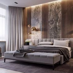 Minimalist Bedroom Design for Modern Home Decor - Di Home Design Rustic Master Bedroom, Master Bedroom Design, Home Decor Bedroom, Master Bedrooms, Bedroom Furniture, Bedroom Small, Cozy Bedroom, Bedroom Colors, Bedroom Ideas For Couples Master Modern