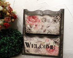 Porta Cartas Duplo Welcome