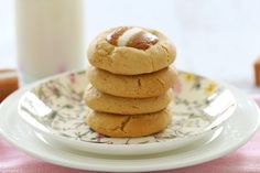 The very BEST Thermomix Jersey Caramel Cookies. Melt & Mix to make these cookies in no time at all.   Bake Play Smile #thermomix #caramel #cookies #recipe