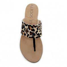 slip-on thong sandal ==