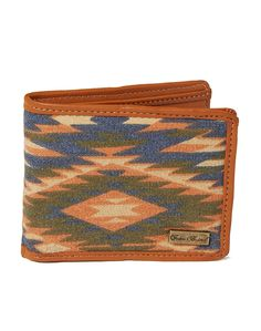 Icon Brand Wallet in Aztec print - Multi - Multi - Accessories - New In   Shop for Men's clothing   The Idle Man