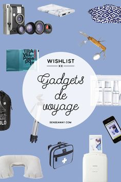 Gadgets de voyage & gadgets de camping #gadget #gadgets #camping #voyage #travel #travelgadget #musthave #wishlist