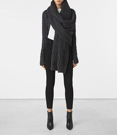 ed6871aab195 41 best Winter with AllSaints images in 2016 | Fashion, Women, All ...