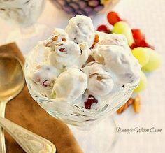 Creamy Delicious Grape Salad...perfect summer treat!