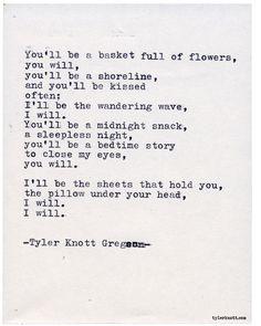 Typewriter Series by Tyler Knott Gregson Book Quotes, Me Quotes, Qoutes, Tyler Knott Gregson Quotes, Where Is The Love, Typewriter Series, Words Worth, Sleepless Nights, Sweet Words