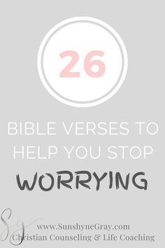 Learn how to stop worrying about the future with these 27 bible verses! When times are uncertain and feel out of our control, we must be purposeful to renew our mind with Scripture that overcomes fear… More