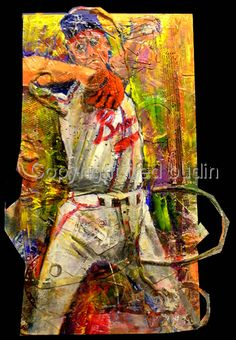 "Contemporary Painting - ""Tommy G."" (Original Art from fred budin)"