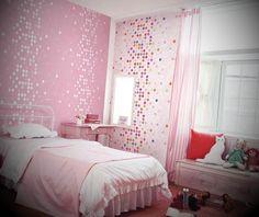 Papel de parede para quarto de menina - http://www.espacomulher.org/papel-de-parede-para-quarto-de-menina/
