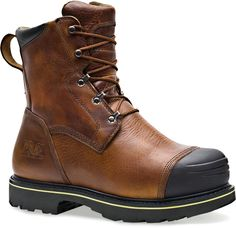 3f6290042c9 099524242 Timberland PRO Men s Warrick Safety Boots - Brown Metatarsal  Boots
