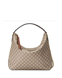 cdedfdfa6c4 Gucci Linea A Large GG Supreme Canvas Hobo Bag