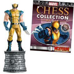 Wolverine chess piece
