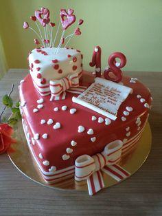 18.th birthday cake! Plus