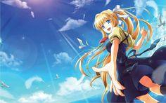 Misuzu from Air. Kyoto Animation, Almost Always, Anime Art, Character Design, Fantasy, Manga, Wallpaper, Gallery, Artwork