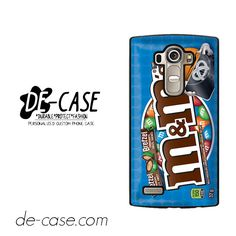 M & M Blue For LG G4 Case Phone Case Gift Present YO