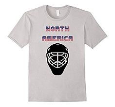 You are a patriot of your country and you continent, North America, and you love different sports, including ice hockey. Get this t-shirt to show that you are an North America ice hockey team fan. A great alternative for the standard ice hockey jersey! Ice Hockey Jersey, Ice Hockey Teams, Cool Tee Shirts, Great T Shirts, Different Sports, North America, Alternative, Fan, Mens Tops