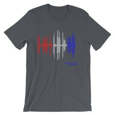 MLK T Shirt American Flag Art Famous Quote Dr Martin Luther King Jr I Have A Dream Audiology Sound Wave Print
