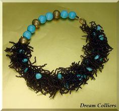 extravaganter Traum - Unikatcollier von Dream-Colliers auf DaWanda.com