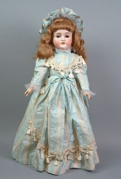 """A Royal Engagement 25"""" Queen Louise Antique German Child Doll Amazing Costume 