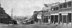 Darling Street looking East from the corner of Gladstone Park. History Balmain NSW