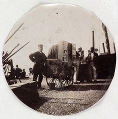 Beach photographer, c1890; Collection of National Media Museum/Kodak Museum