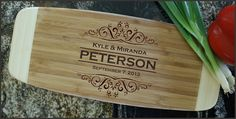 Personalized Cutting Board Personalized by Engravablecreations, $31.00