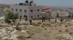 PHOTO: #Israel's occupation forces seeking lost illegal settlers in occupied #Hebron of #Palestine(13)